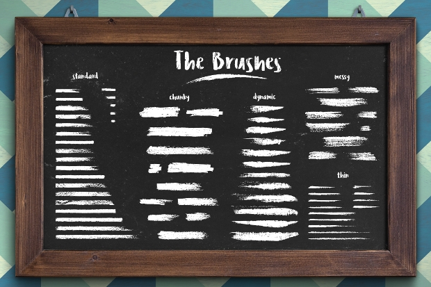 classic chalk brushes