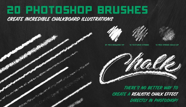 crafted chalk brushes
