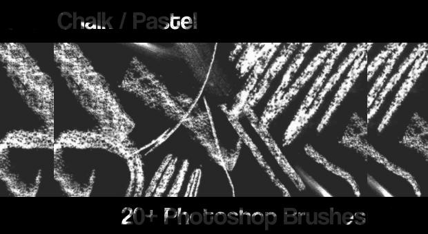 Chalk Pastel Brushes Set
