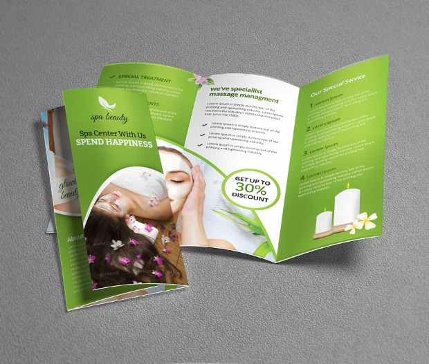 spa brochure templates - 21 cosmetic brochures free psd ai indesign vector