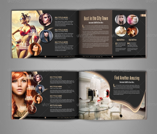 Modern Beauty Salon Brochure
