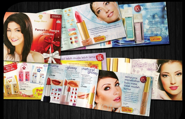 Cosmetic Promotional Brochure