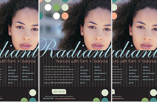 High Quality Beauty Hair Salon Flyer