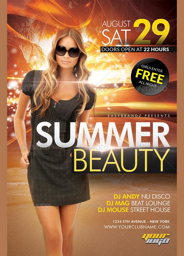 Summer Beauty Flyer
