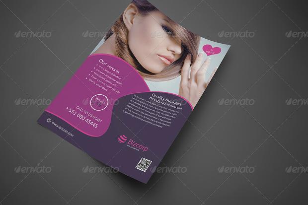 Beauty Fashion Flyer Design