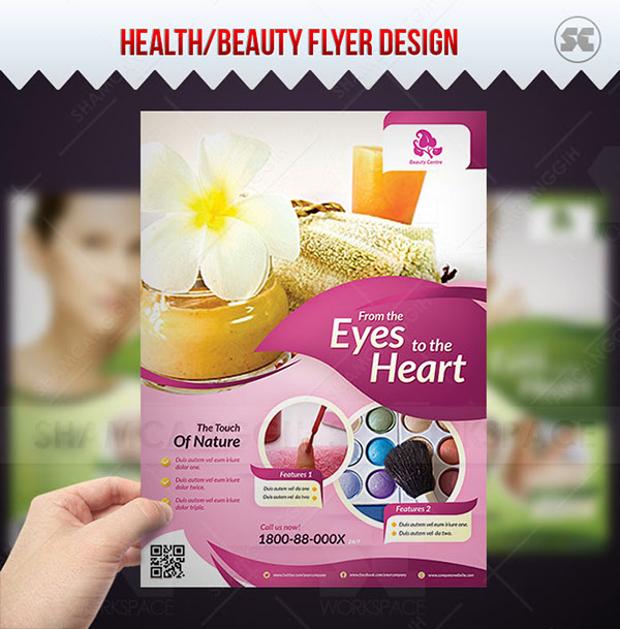 Modern Beauty Flyer Design