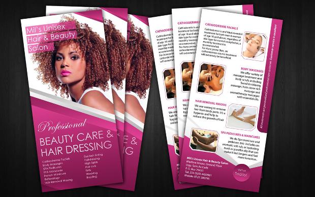 Free Beauty Saloon Flyer