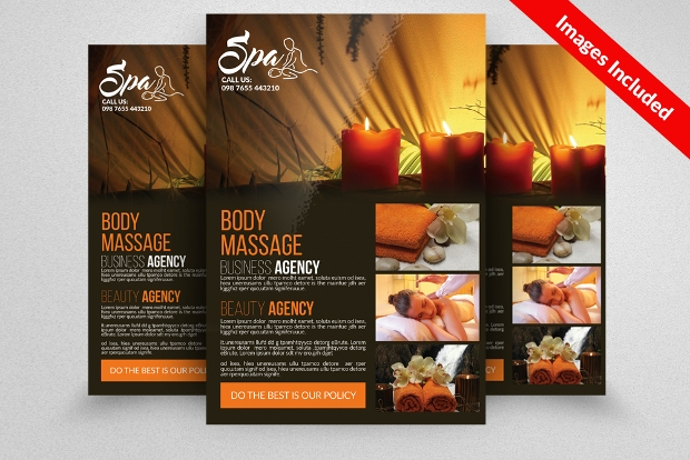 Beauty and Spa Centre Flyer