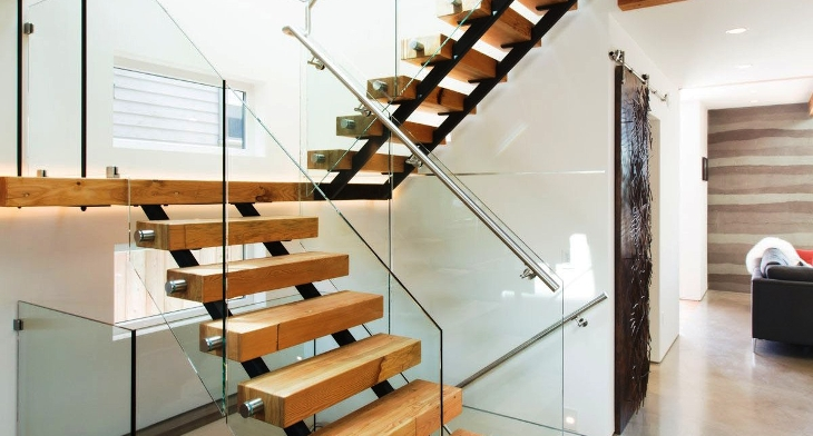 img the beauty of wooden staircase - Wooden Stairs