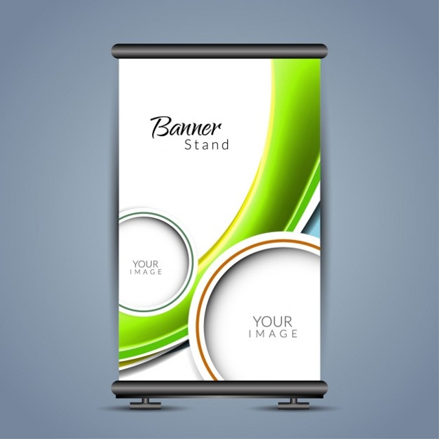 Colorful with Waves Rollup Template