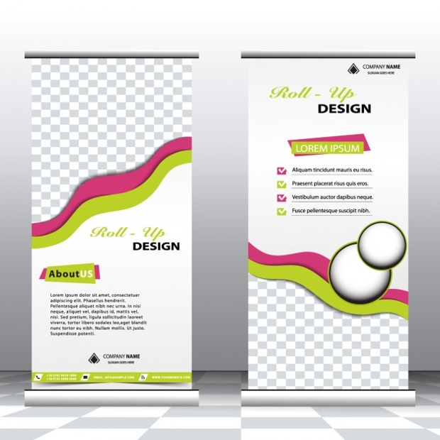 Stylish Business Roll up banners
