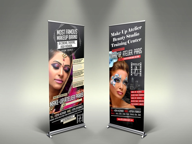 Beauty Roll-Up Banner