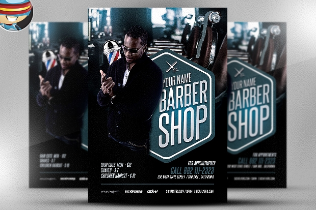 Barbershop Business Flyer