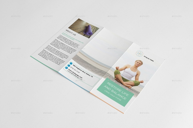 Yoga Meditation Brochure