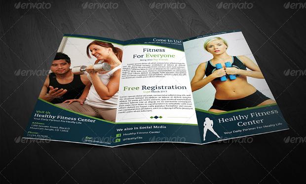 Health Fitness Brochure