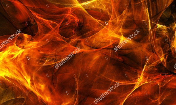 abstracted fire flame texture