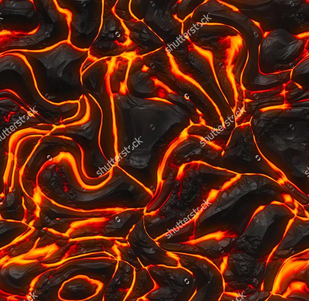 Lava Fire Texture