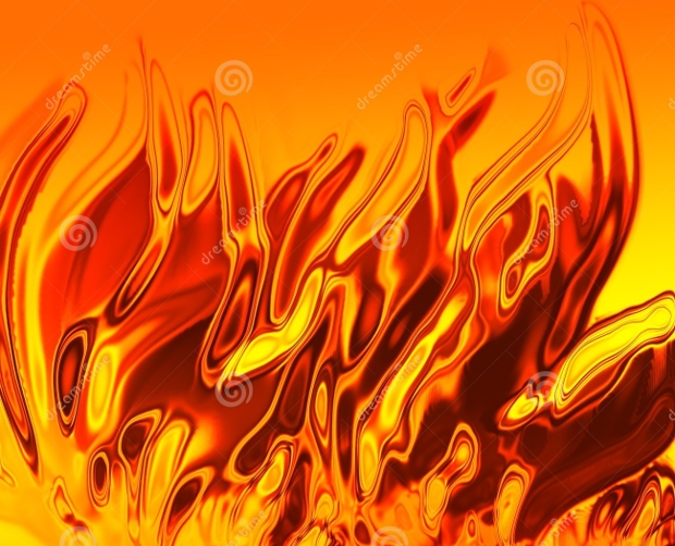 swirling burning fire texture