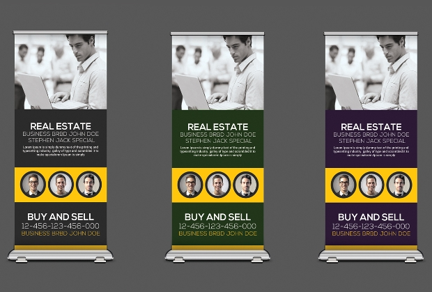 Real Estate Rollup Banner Template