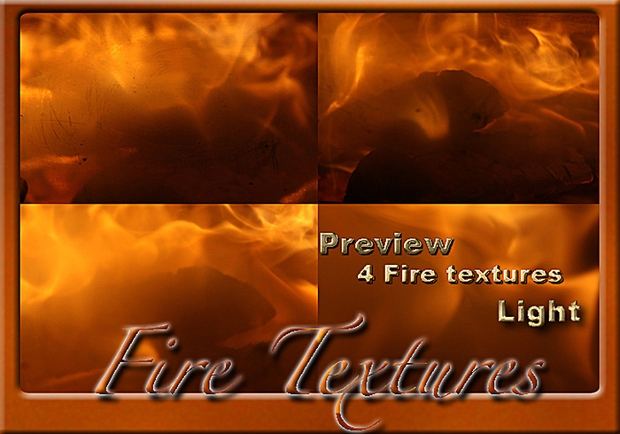 fire light seamless texture