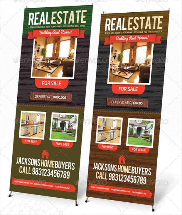 Real Estate Outdoor Banner