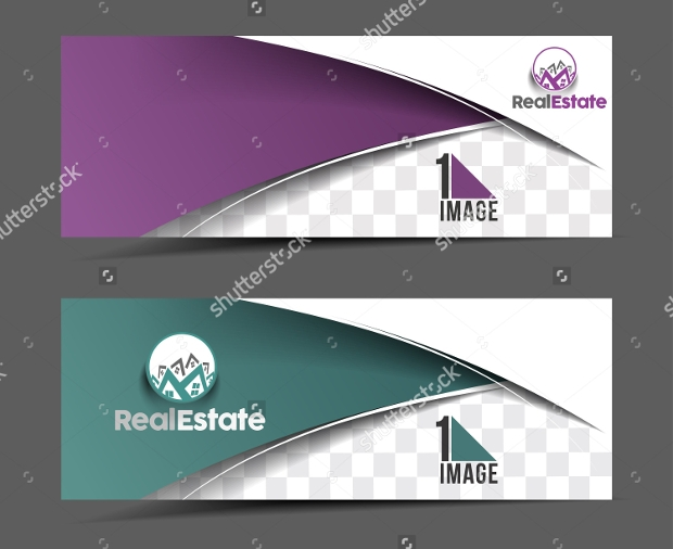 Real Estate Header and Banner Design