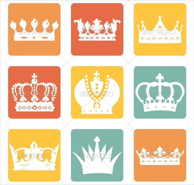Old Crown Icons