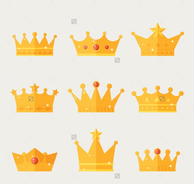 gold crown icons