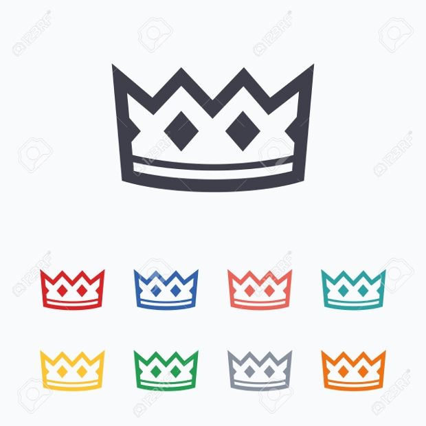 crown sign icons