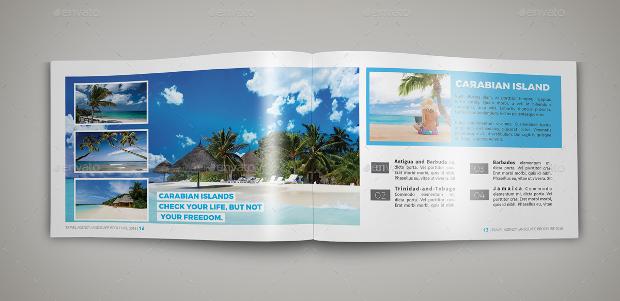 Landscape Travel Agency Brochure