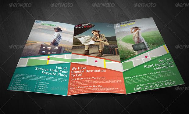 Travel Agency Guide Brochure