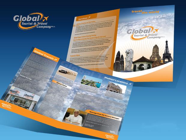 Global Travel Agency Brochure