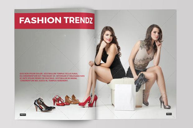 fashion photography advertising magazine
