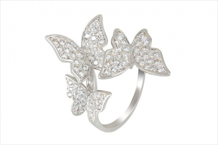 awesome butterfly ring idea