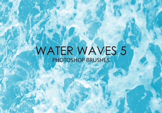 Water Wave Photoshop Brushes