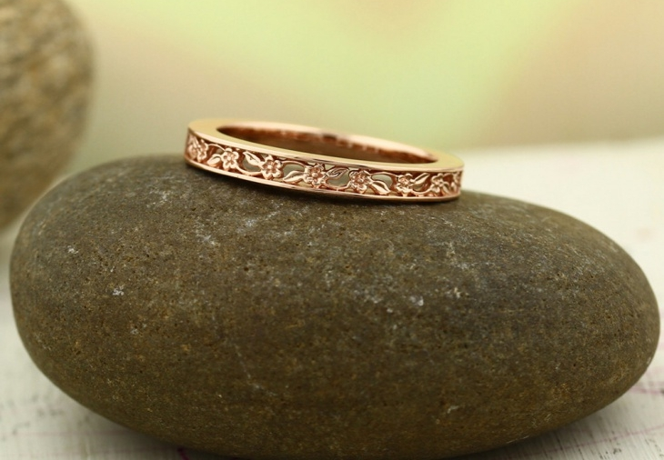 sculptural wedding ring