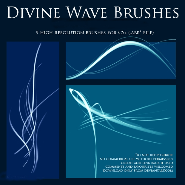 divine wave brushes1