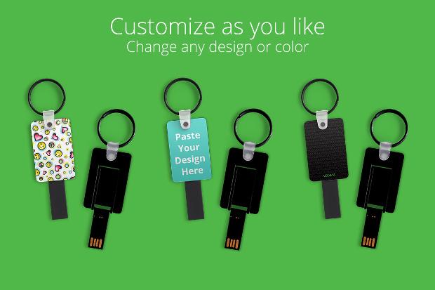 High Resolution Keychain Mockup