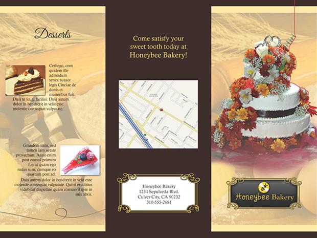 17  bakery brochures