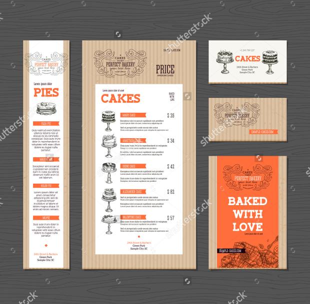 Bakery Corporate Brochure Template