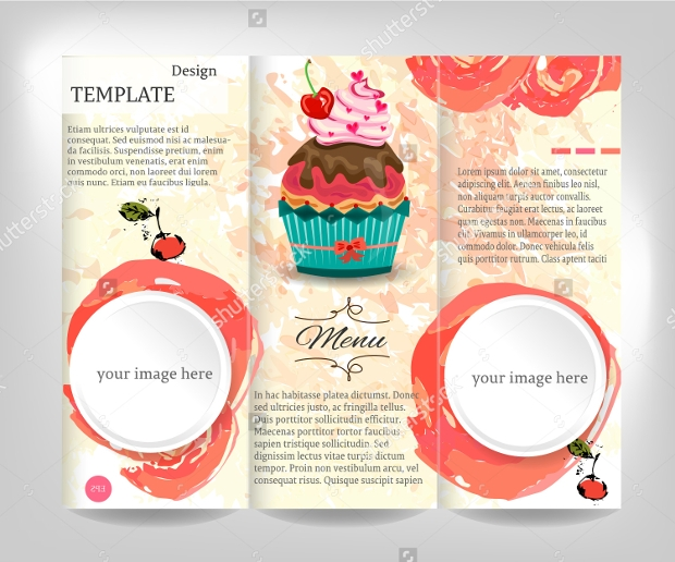 Cake Shop Brochure Template