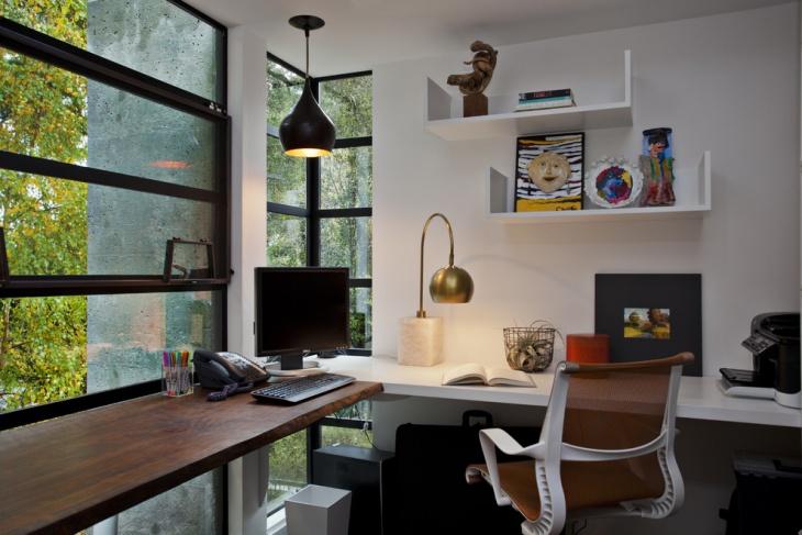 unique computer desk lamp idea
