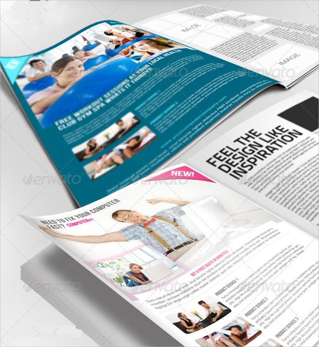 Product Magazine Advertisement Template