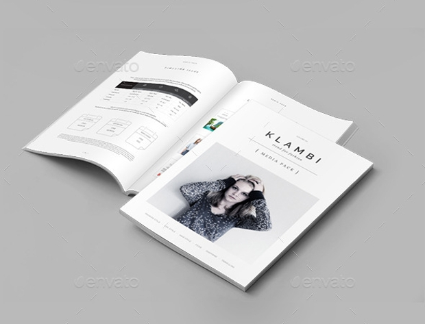 fashion magazine media pack
