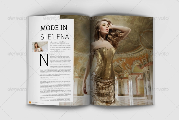 Lorence Fashion Magazine Template