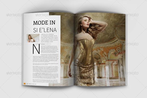 lorence fashion magazine template
