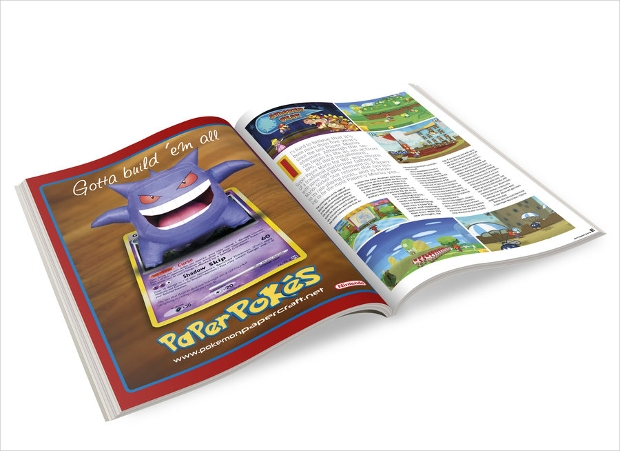 Paperpokes Magazine Advertisement