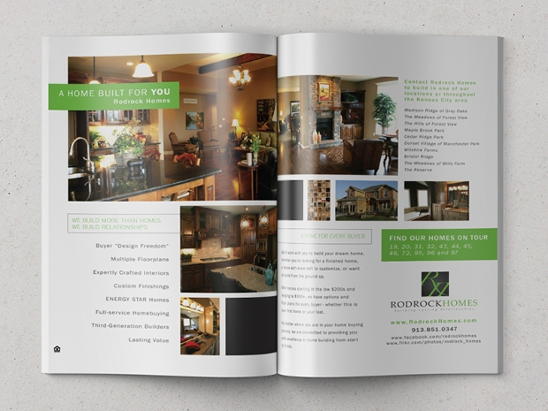 Rodrock Homes Advertising Magazine