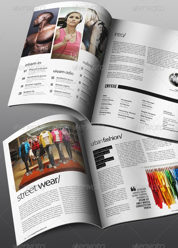 professional advertisement magazine
