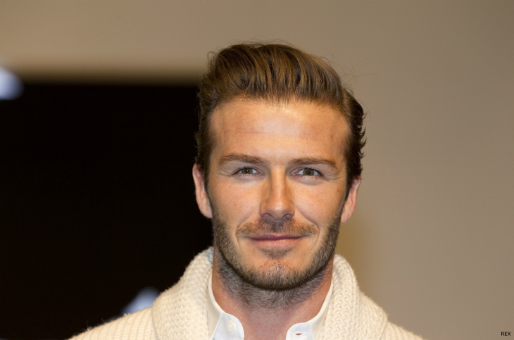 david beckham wavy combover haircut